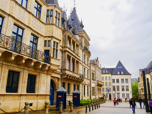 Palast Großherzog Luxemburg