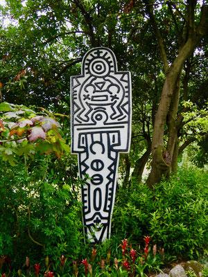 Keith Haring Skulptur, Andre`Heller Garten, Gardasee