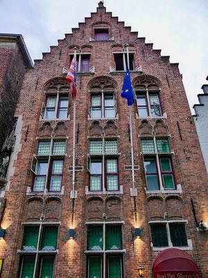 Belgien, Brügge Bürgerhäuser