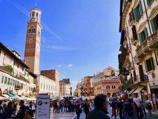 Der Piazza delle erbe