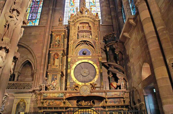Frankreich, Straßburg, Cathedrale Astronomische Uhr