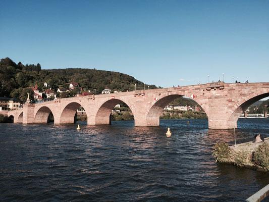 Heidelberger Neckarbrücken