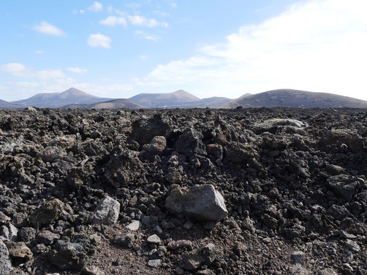 Vulkanlandschaft Lanzarote