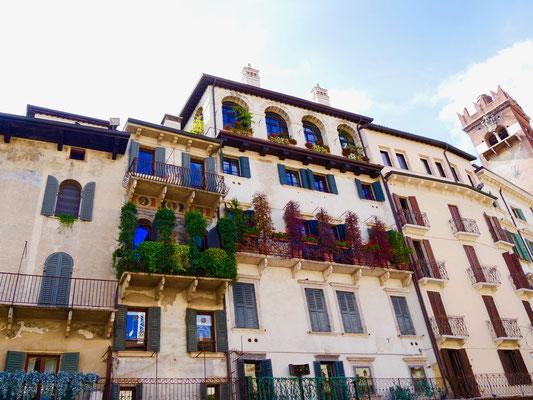 Palazzo an der Piazza delle Erbe