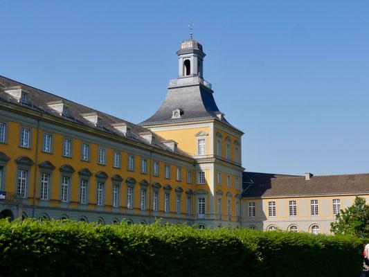 Sehenswürdigkeit Deutschland Bonn, Poppelsdorfer Schloss Universität im Hofgarten