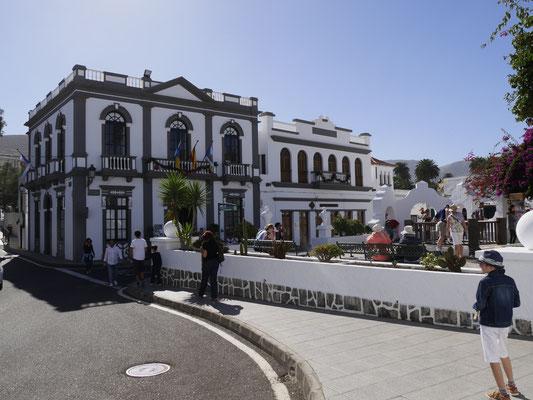 das Rathaus von Haria