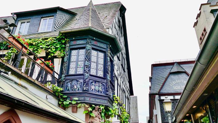 Rüdesheim am Rhein Drosselgasse Sehenswürdigkeiten Deutschland