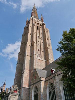 Belgien, Brügge Liebfrauenkirche