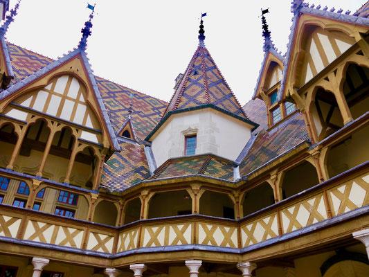 Frankreich, Beaune : Hotel Dieu, Museum