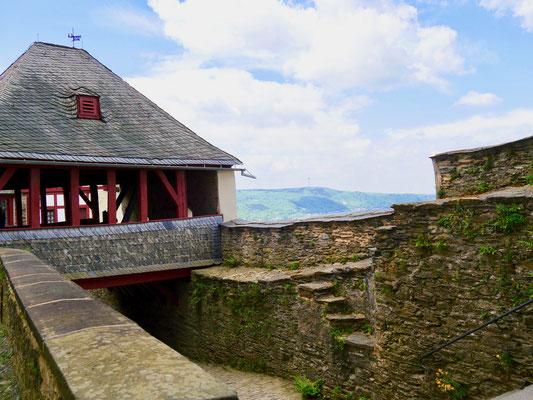Ritter Burg Marksburg Braubach am Rhein