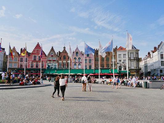 Belgien, Brügge Groote Markt