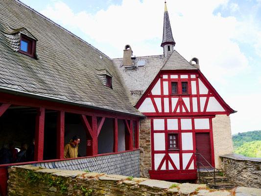 Marksburg Braubach Ritter Burg Marksburg Braubach am Rhein
