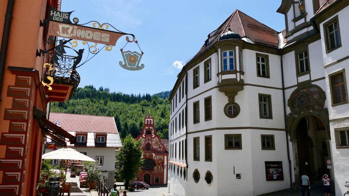 Füssen im Allgäu, Altstadt