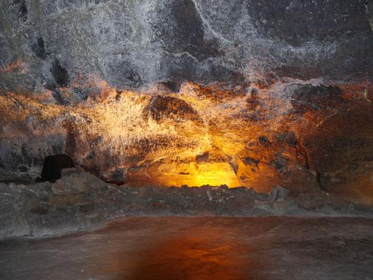 die Höhle Cueves des los Verdes  Lanzarote