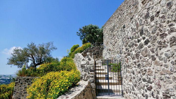 Ischia, Italien, Castello Aragonese