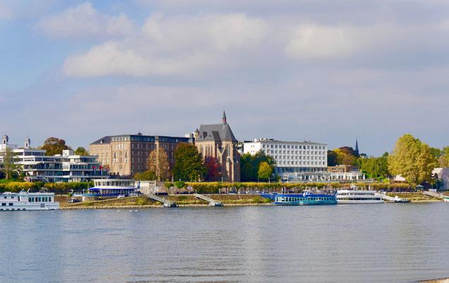 Bonner Rheinansichten Collegium Albertinum Moby Dick