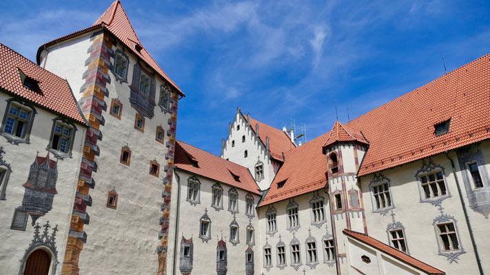 Füssen im Allgäu das Hohe Schloss
