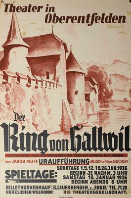 1936 Der Ring von Hallwil