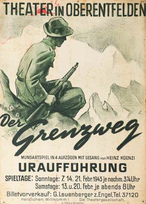 1943 Der Grenzweg
