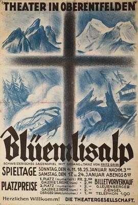 1931 Blüemlisalp