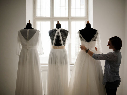 Brautkleider nach Maß genäht