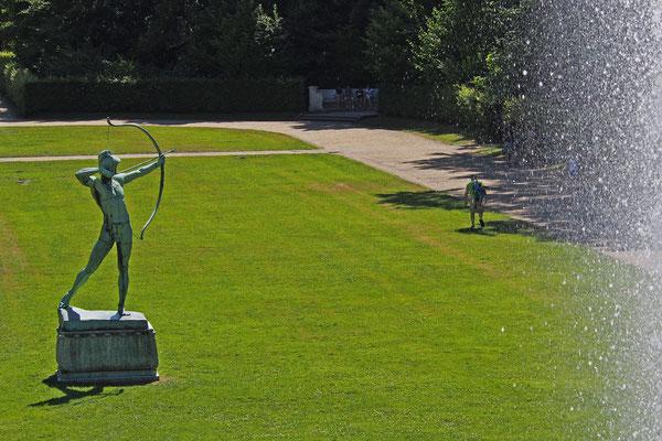 Statue im Schlosspark Sanssouci, Potsdam