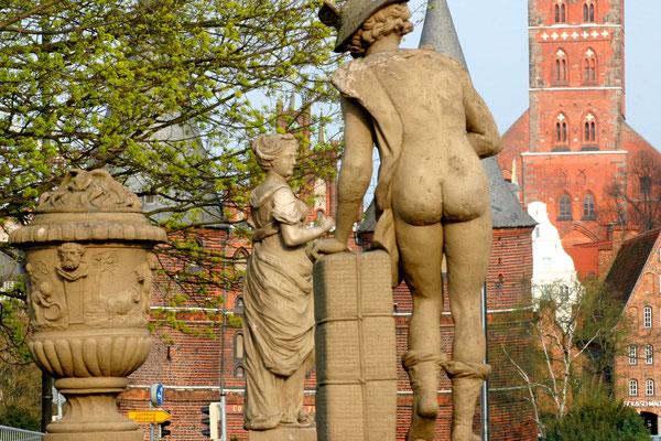 Puppenbrücke, Lübeck