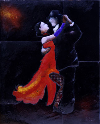 Tango 20x30 cm € 300