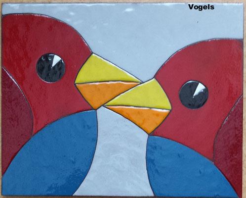 0ng. 20x30cm vogels