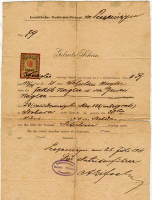 Certificato di Nascita Salo