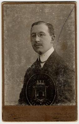 Ritratto di Salo Nagler 1917 fronte