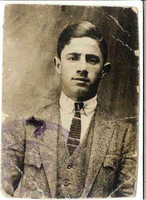 Foto del giovane Giuseppe Hassid