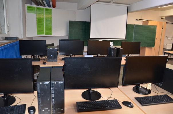 Unser Computerraum