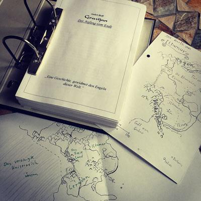 Das Manuskript von Gravijan