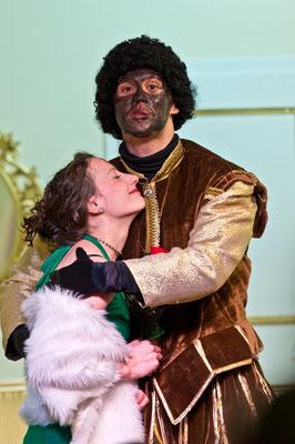 OTHELLO DARF NICHT PLATZEN. Regie: Andrea Schnitt. Linzer Kellertheater 2014.