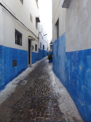 Bild: Kasbah des Oudayas in Rabat