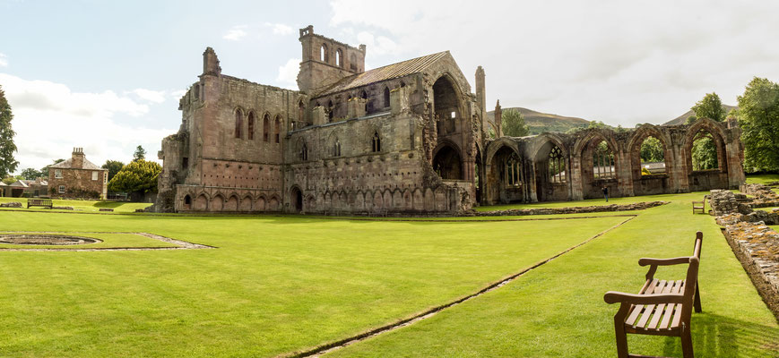 Bild: Melrose Abbey