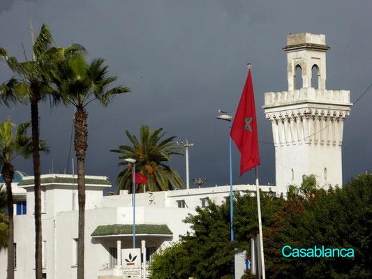 Bild: Moschee in Casablanca