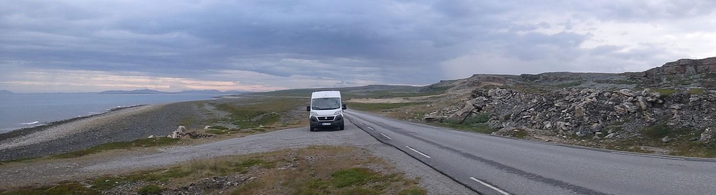 Bild: Fahrt nach Varanger