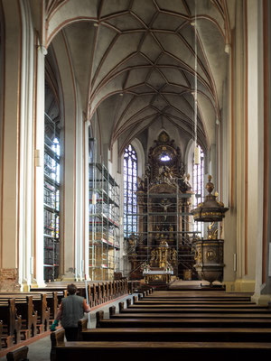 Bild: Die Kathedrale zum heiligen Kreuz - Foto 1 Innenraum