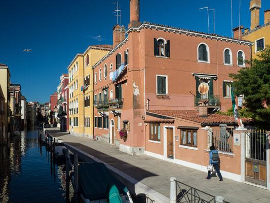 Bild: Ghetto: Das abgeschlossene Wohngebiet für die jüdische Bevölkerung in Venedig.
