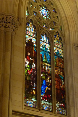 Bild: Fenster der St. Patricks Church