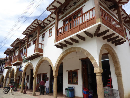 Bild: Kolonialhaus in Villa de Leyva
