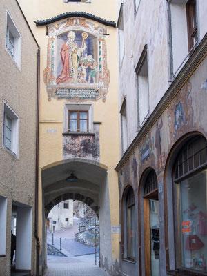 Bild: Das Ragengtor in Bruneck