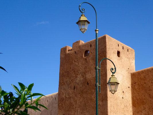 Bild: Festungsturm in Rabat
