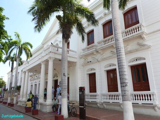 Bild: Das Justizgebäude von Santa Marta