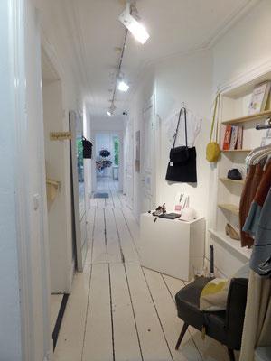 Bild: Innenansicht der Modeboutique in der Schanze