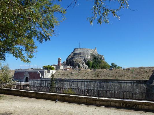 Bild: Blick auf die Festung