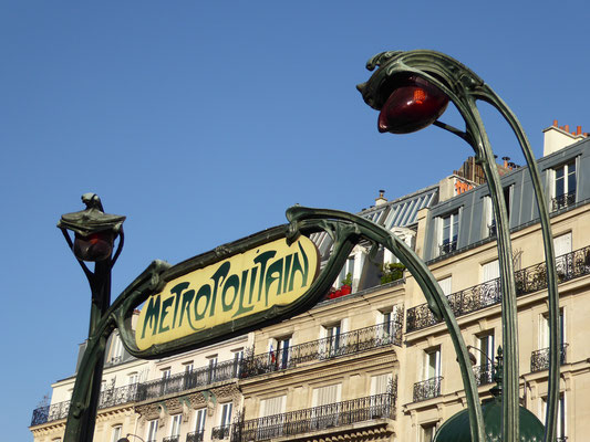 Bild: Metrostation Place de Clichy