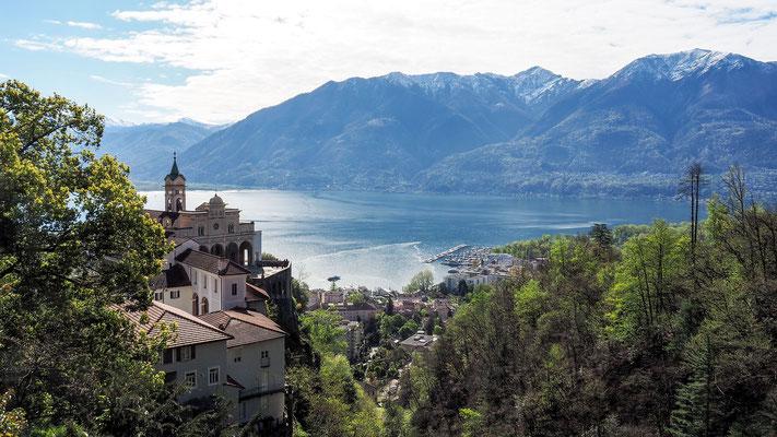 Bild: Der herrliche See Lago Maggiore